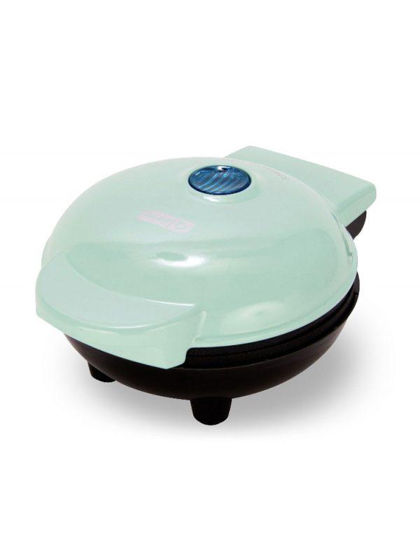 Mini Waffle Iron Blue