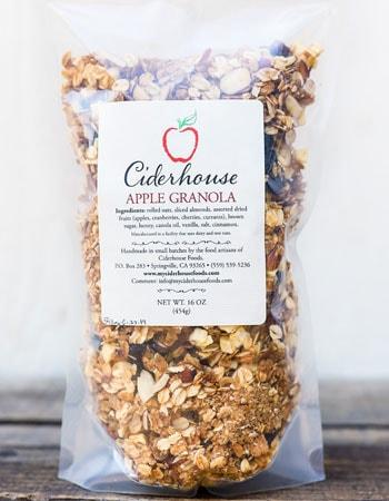 Ciderhouse Apple Granola